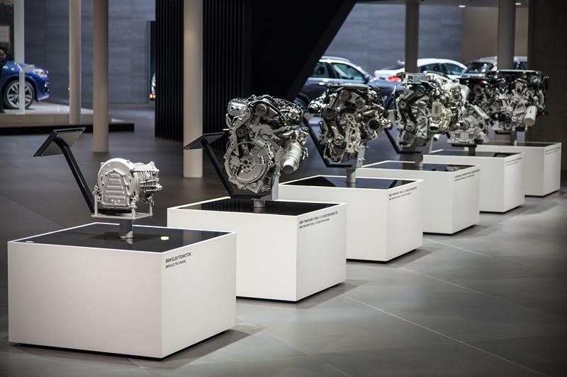 BMW Motorenausstellung, IAA 2017 in Frankfurt