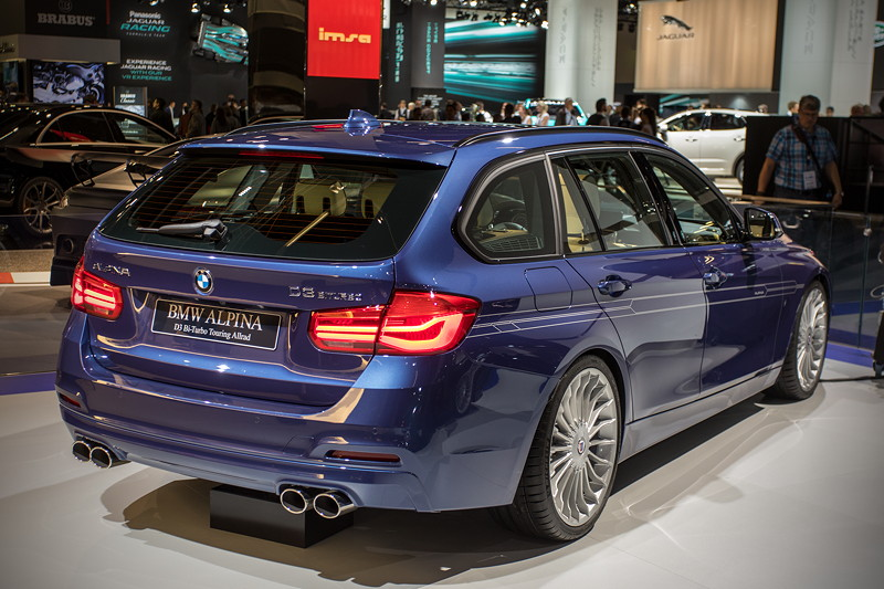 Alpina D3 Bi-Turbo Allrad Touring (F31) in 'Alpina blau metallic'