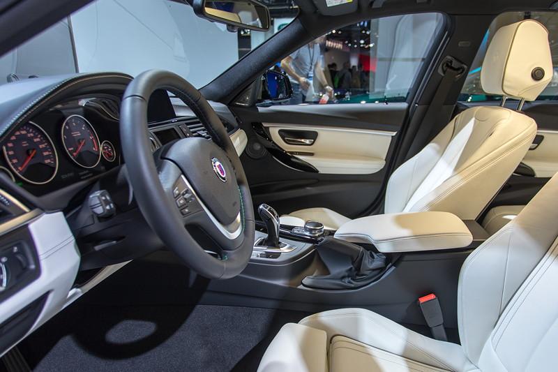 Alpina D3 Bi-Turbo Allrad Touring, Innenraum
