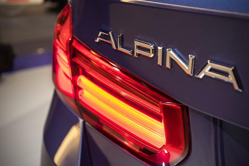 Alpina D3 Touring Allrad, Typbezeichnung auf der Heckklappe