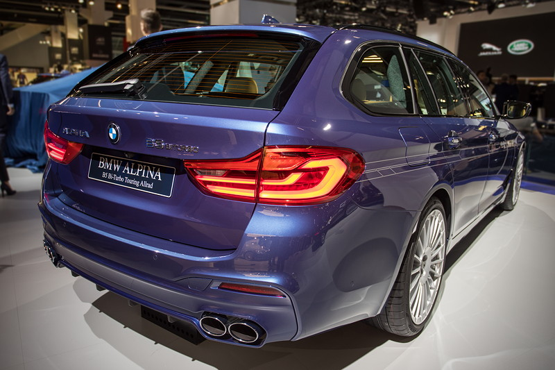 Alpina B5 Bi-Touring Allrad in 'Alpina blau metallic'