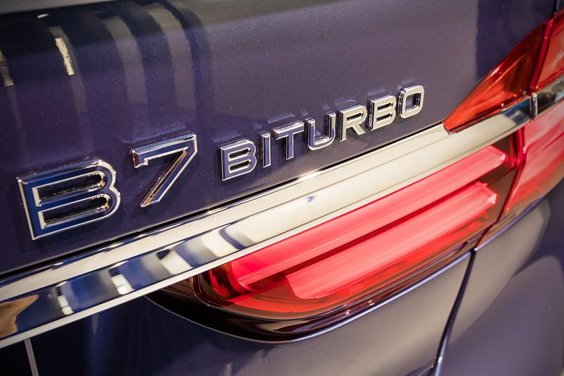 Alpina B7 Bi-Turbo Allrad (G12), Typ-Bezeichnung auf der Heckklappe