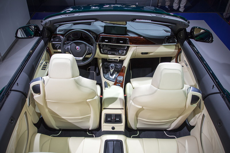 Alpina B4 S Bi-Turbo Cabrio, Interieur