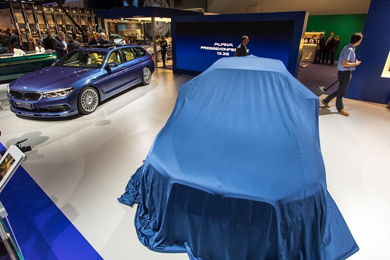 Weltpremiere auf der IAA 2017: der BMW Alpina D5 S