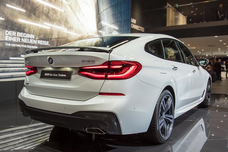 BMW 6er GT, Weltpremiere auf der IAA 2017