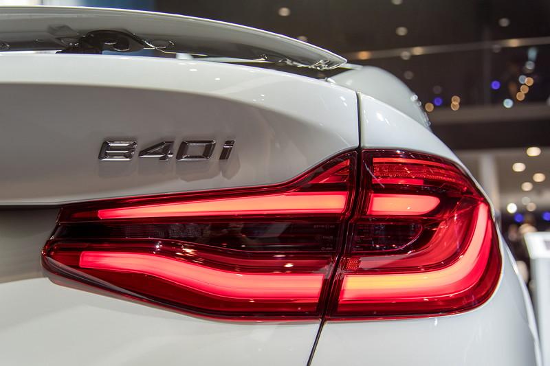 BMW 6er GT, Typ-Bezeichnung auf der Heckklappe