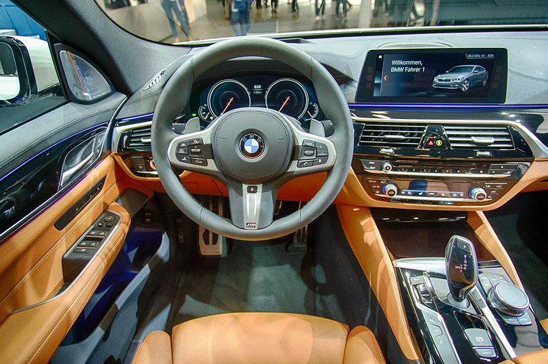 BMW 6er GT, Cockpit