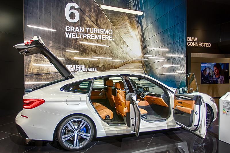 BMW 6er Gran Turismo (G32) - Weltpremiere auf der IAA 2017