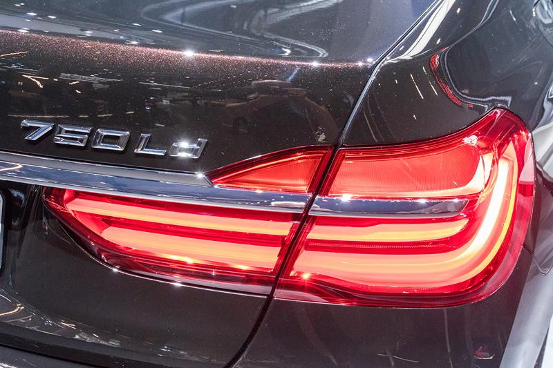 BMW 750Ld Individual, Typbzeichnung auf der Heckklappe