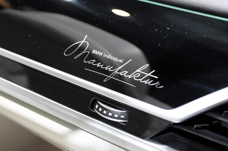 BMW 750Ld Individual, individuelle nach Kundenwunsch gestaltete Holzleiste (nicht nach Katalog, sondern individuell zu bestellen)