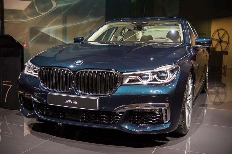 BMW 750 Li Individual '40 years' in Individual Lackierung Petrol Mica Metallic