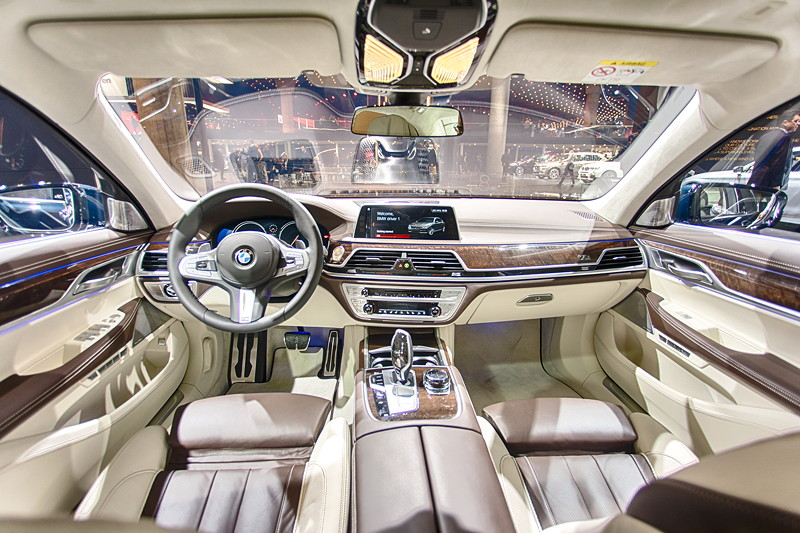 BMW 750 Li Individual '40 years', Interieur vorne