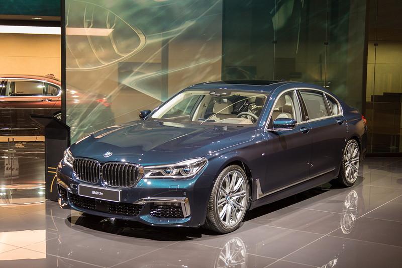 BMW 7er Edition 40 Jahre: BMW 750Li, ausgestellt auf der IAA 2017