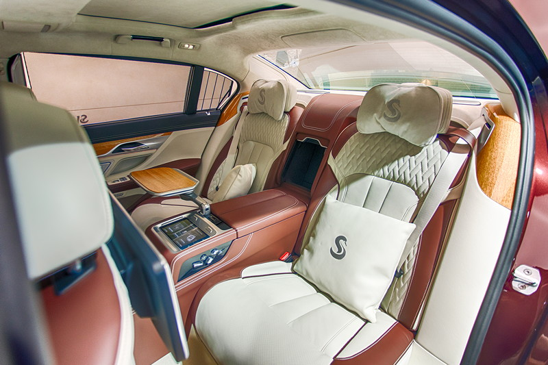 BMW M 760 Li Individual Inspired by Nautor's Swan, mit Executive Lounge