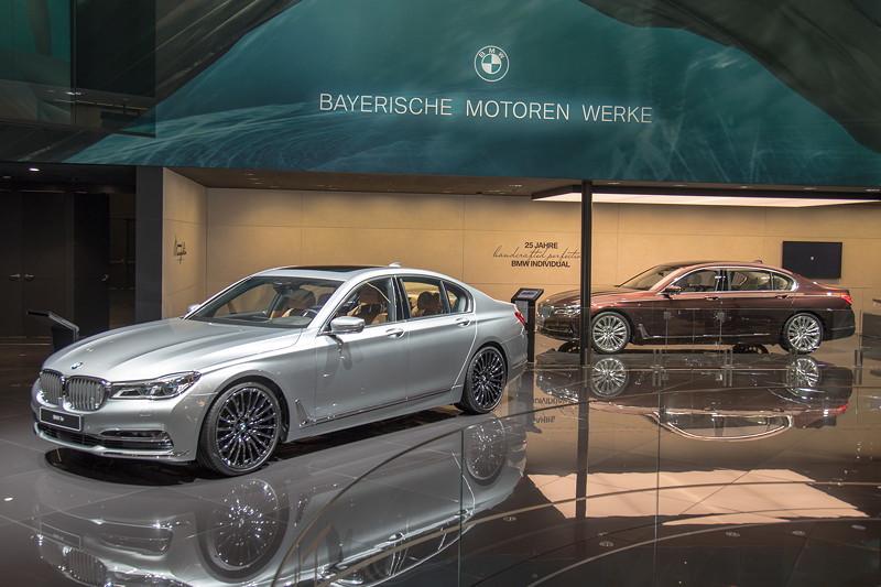 BMW 730d Individual und BMW M760Li 'Nautors Swan' auf der IAA 2017