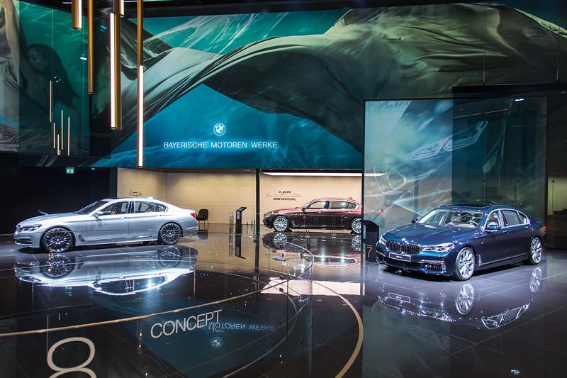 BMW 7er Individual Modelle auf der IAA 2017 in Frankfurt