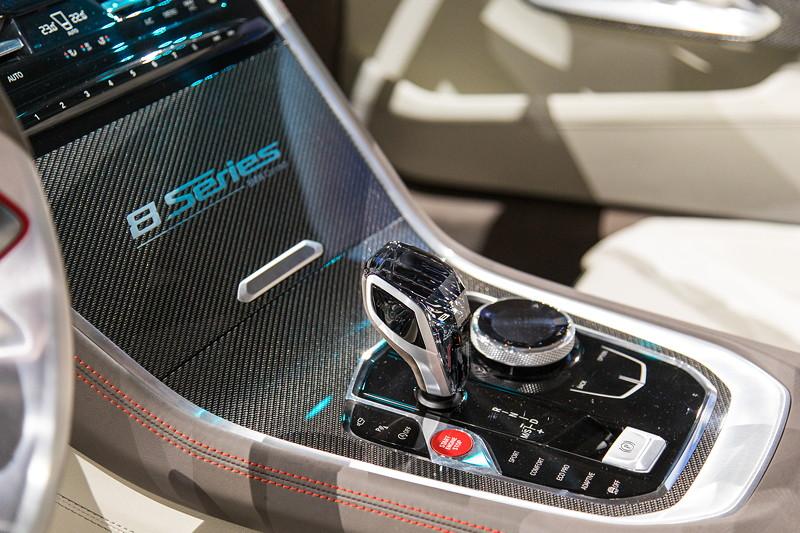 BMW Concept 8series, Mittelkonsole