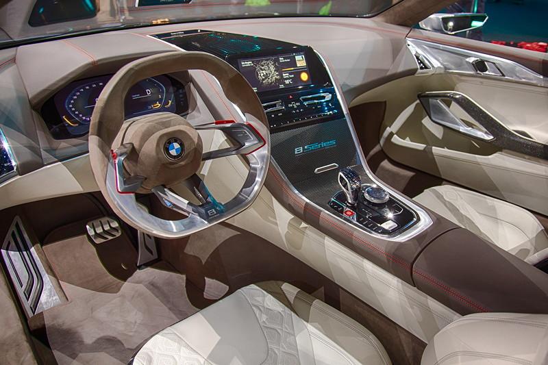 BMW Concept 8series, Cockpit