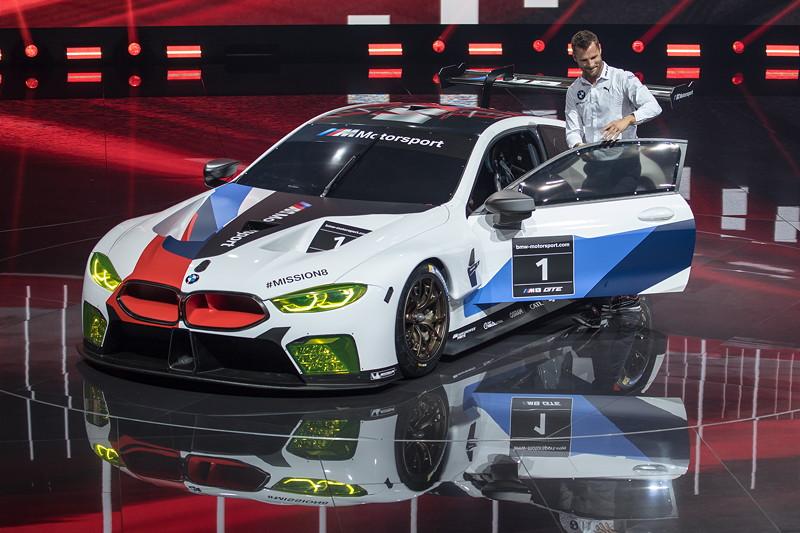 BMW M8 GTE mit BMW Werksfahrer Martin Tomczyk