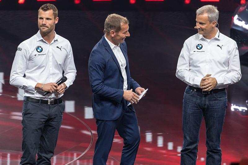 BMW Motorsport Pressekonferenz, IAA 2017 mit Martin Tomczyk und Jens Marquardt