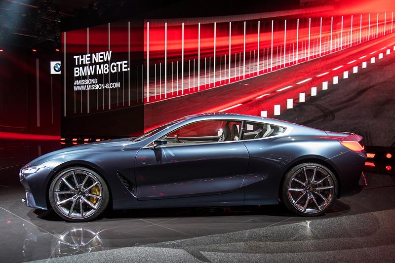 BMW Concept 8series, BMW Motorsport-Pressekonferenz, IAA 2017