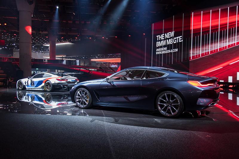 BMW Concept 8series und BMW M8 GTE, BMW Motorsport-Pressekonferenz, IAA 2017