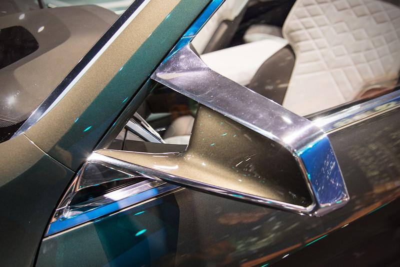 BMW Concept X7 iPerformance, Aussenspiegel