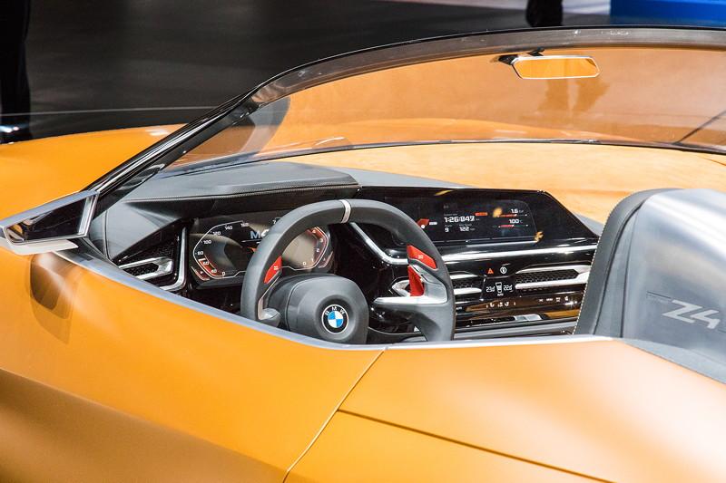 BMW Concept Z4, Cockpit