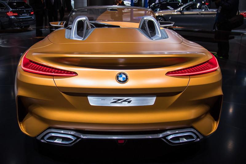 BMW Concept Z4, IAA 2017.
