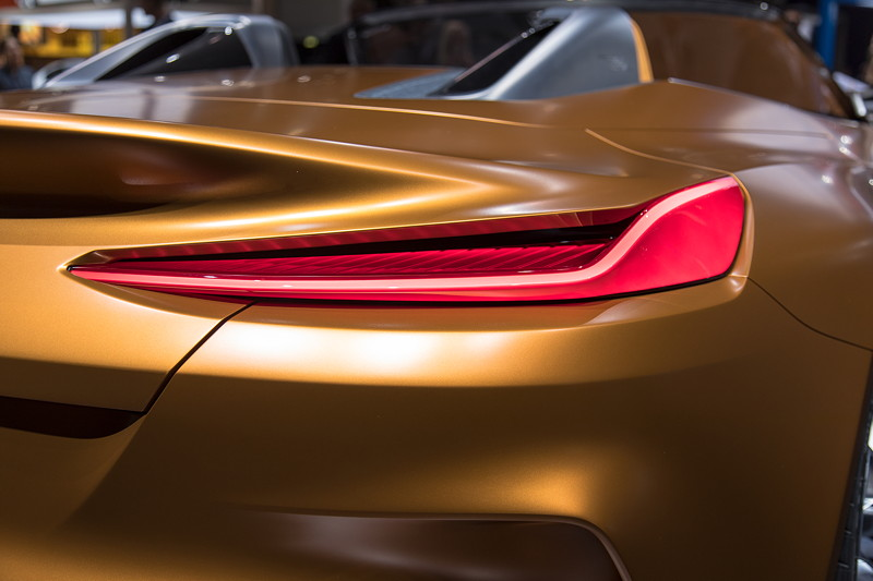 BMW Concept Z4, Rücklicht, IAA 2017.