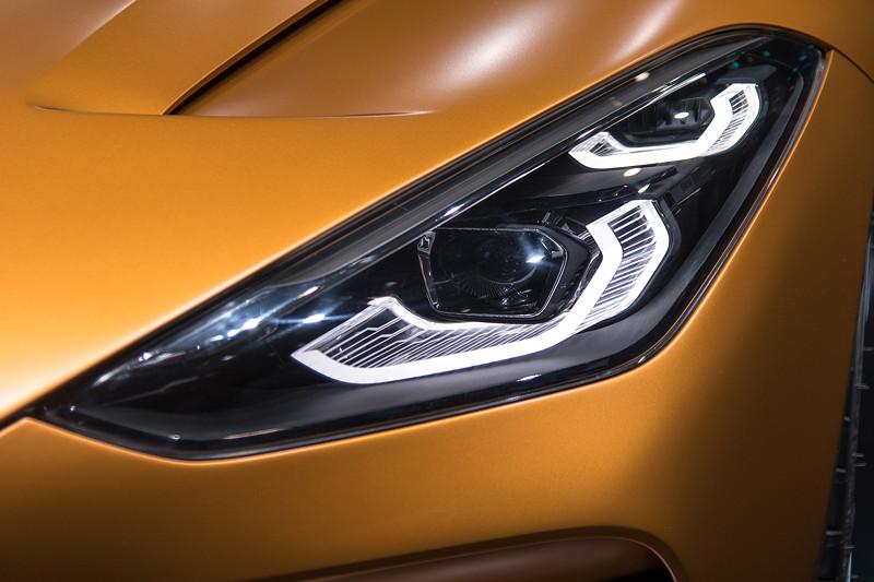 BMW Concept Z4, LED Scheinwerfer.