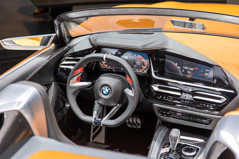 BMW Concept Z4, Cockpit.