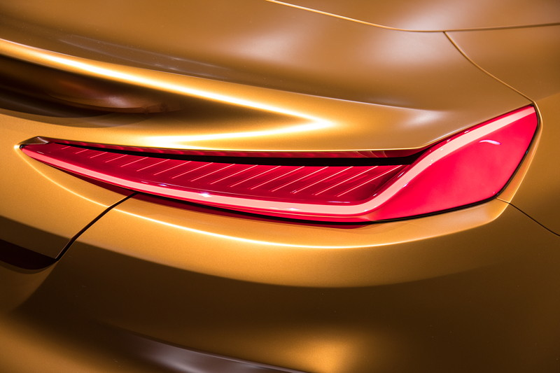 BMW Concept Z4, Rücklicht.