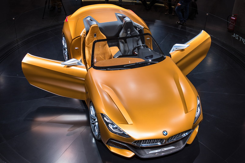 BMW Concept Z4 in Frozen Energetic Orange.