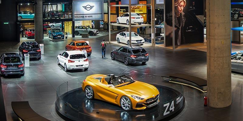 BMW Concept Z4 auf dem BMW Messestand, Halle 11, IAA 2017