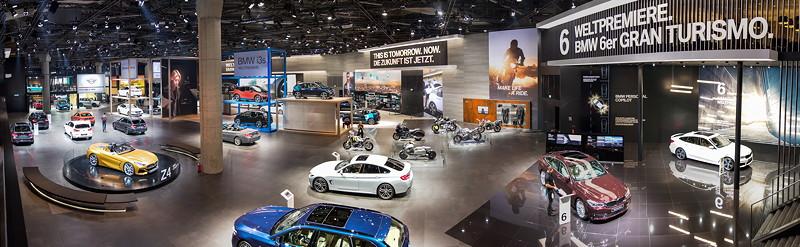 BMW Messestand auf der IAA 2017