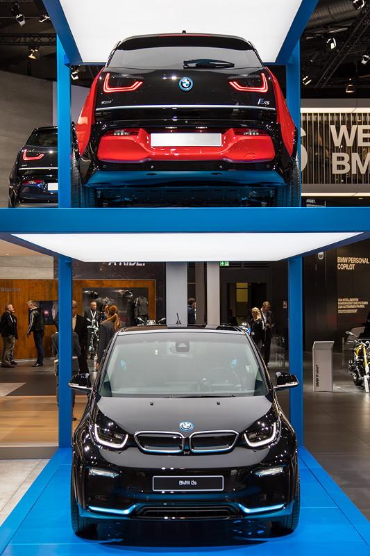 BMW i3s, ausgestellt als Weltpremiere auf der IAA 2017