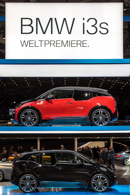 Weltpremiere auf der IAA 2017: das Facelift des BMW i3 und der neue BMW i3s