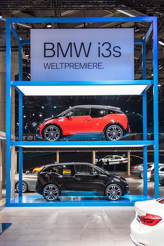BMW i3s, Weltpremiere auf der IAA 2017 in Frankfurt