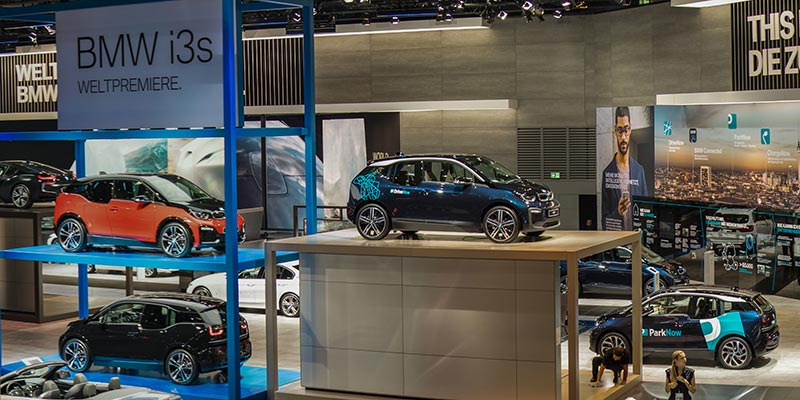 BMW i3s und BMW i3 Facellift, Weltpremieren auf der IAA 2017 in Frankfurt