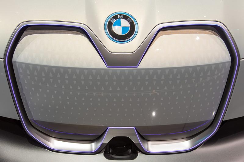 BMW i Vision Dynamics, angedeuteter Kühlergrill
