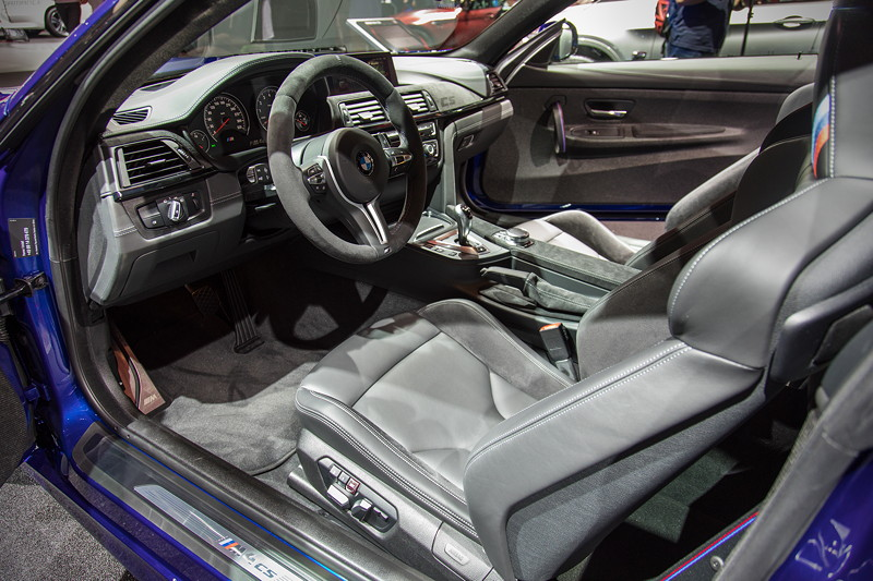 BMW M4 CS, Innenraum vorne