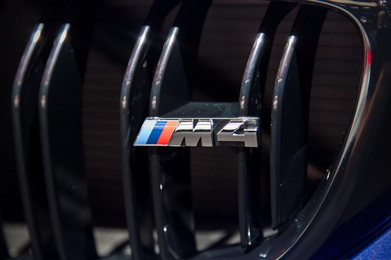 BMW M4 CS, BMW Niere mit M4 Logo