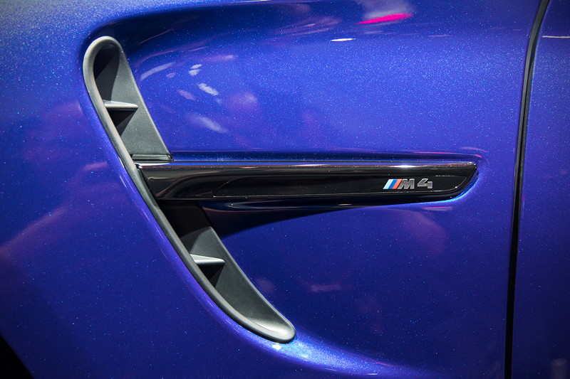 BMW M4 CS, seitliche Kieme