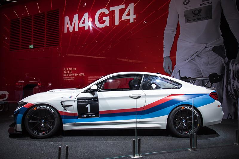 BMW M4 GT4 auf der IAA 2017