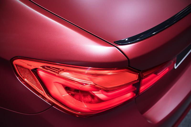 BMW M5 First Edition, Heckspoiler Lippe auf dem Kofferraumdeckel