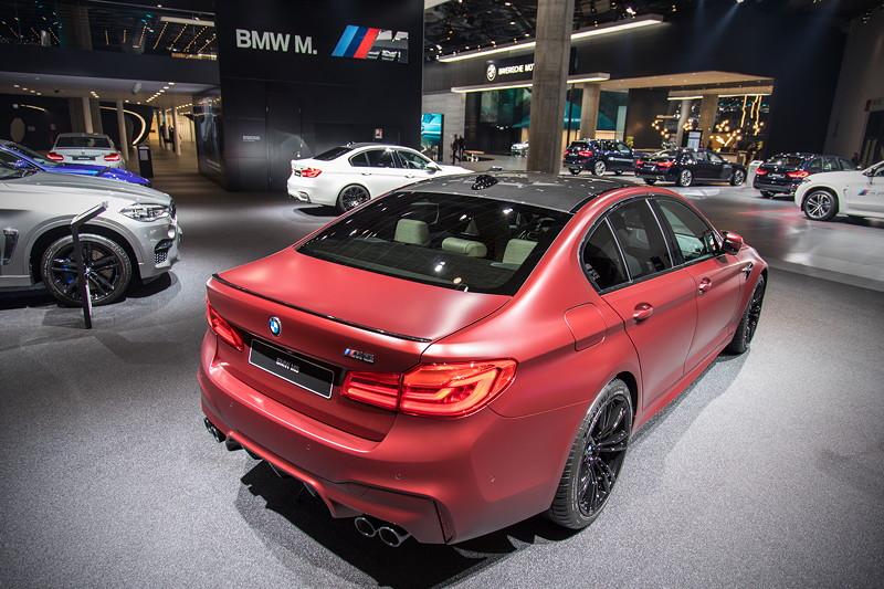 BMW M5 First Edition, in der BMW M Ausstellung auf der IAA 2017