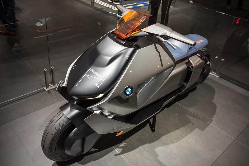 BMW Motorrad Concept Link, inspiriert vom BMW Motorrad Vision NEXT 100
