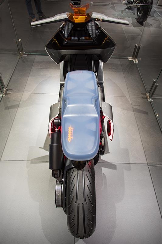 BMW Motorrad Concept Link, inkl. Rückwärtsgang