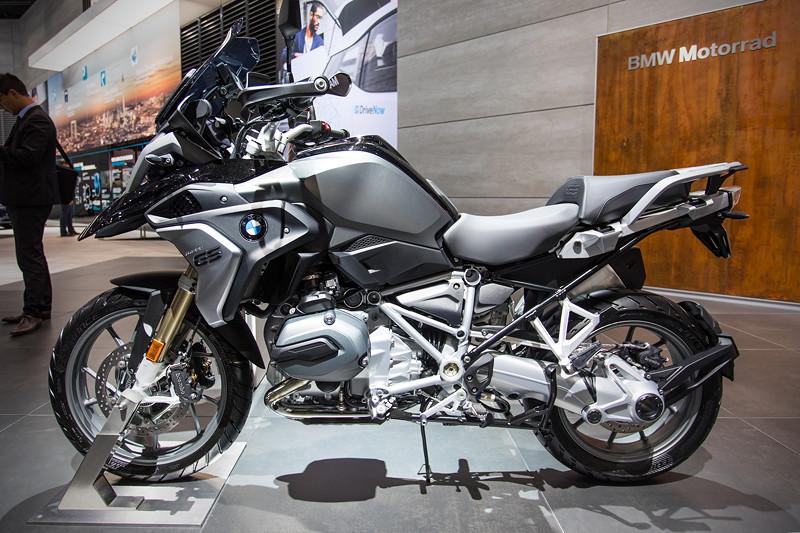 BMW Motorrad R 1200 GS, der Bestseller wurde in diesem Jahr überarbeitet vorgestellt